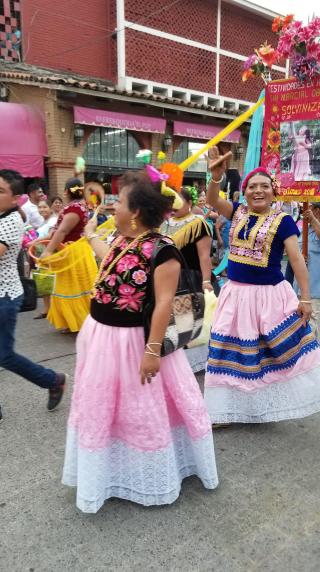 Tehuantepec Desfile de Muxes