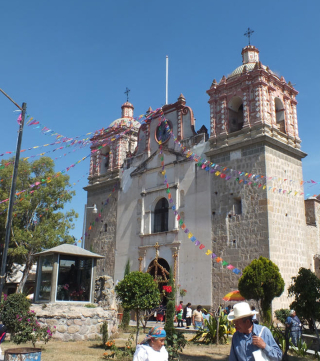Tlacolula Templo de Sta María de la Asunción