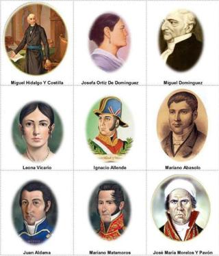 Consp Heroes de la Independencia