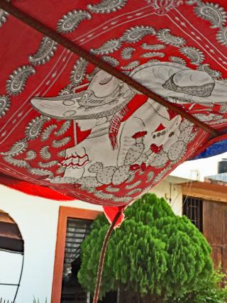 Silvana Juchitán Mototaxi Roof