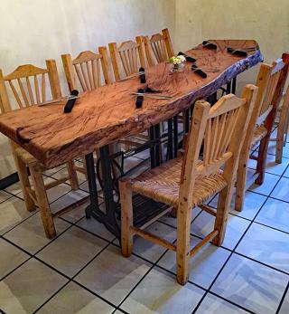 Teocintle Maíz Ricardo-Made Table 1
