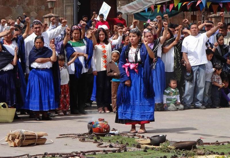 Purhépecha Women Cherán