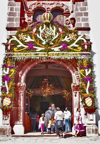 Entrada al Templo