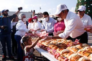 Rosca de Reyes 1-8-2019 Morelia