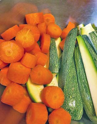 Cocido Calabacita y Zanahoria 1