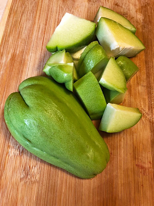 Cocido Chayote 1