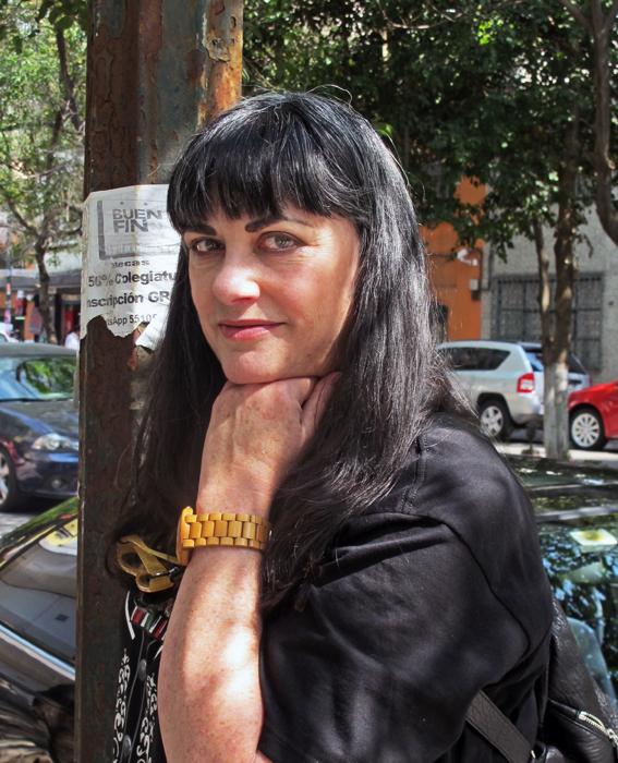 Pamela Gordon January 2015 en la Condesa