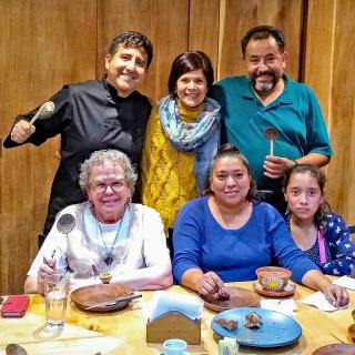 Pasillo de Humo con Alam  Paco  Alondra  Lulú  Montse Oct 9 2018 1