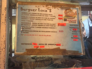 Hamburguesa Loca Carta 5-16-2020