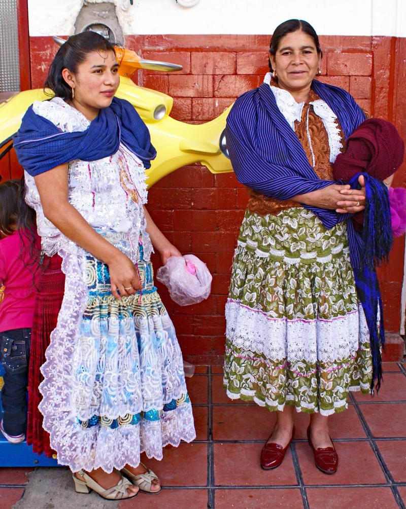 Indigenous Women Paracho 2009