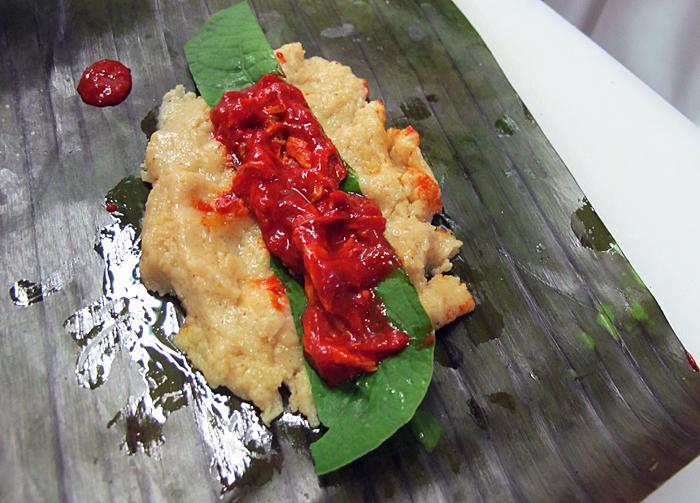 Tamales de Pollo Guajillo Cebolla Titita