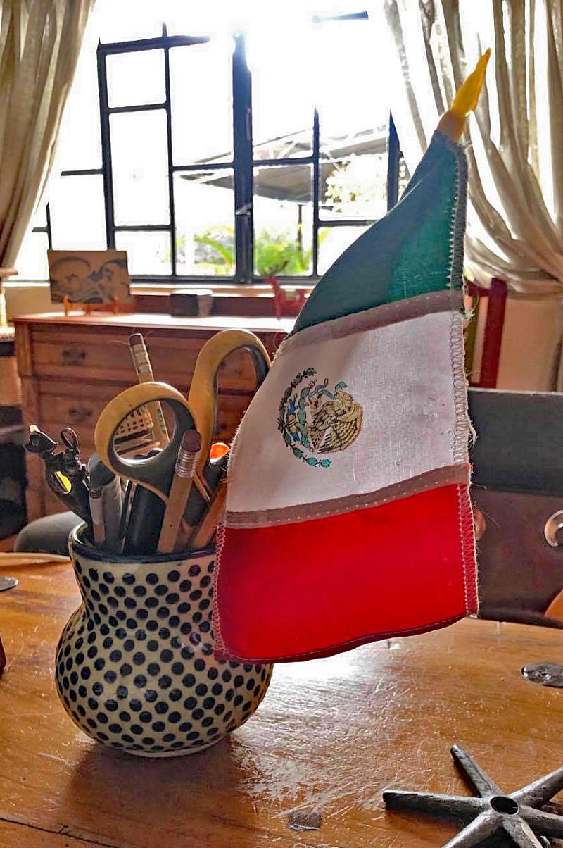 Grito Bandera Mexicana Chica